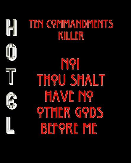 4010ce00533a No.1 - Thou Shalt Have No Other Gods Before Me.