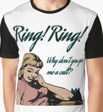 Ring Ring - ABBA Graphic T-Shirt