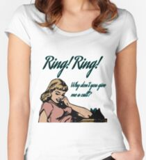Ring Ring - ABBA Women's Fitted Scoop T-Shirt