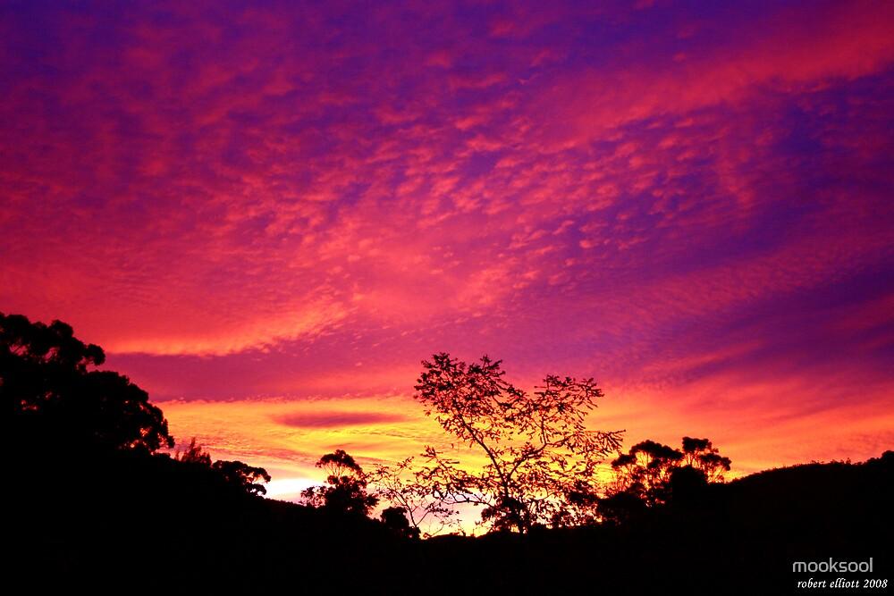 Sandy Bay sunset by mooksool