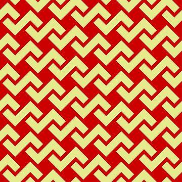 Strawberry Pentomino Pattern by tee-fury