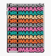 Drum & Bass (fierce) iPad Case/Skin
