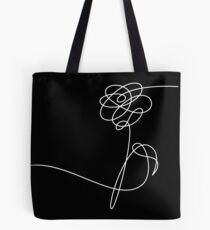 BTS LOVE YOURSELF 'HER' FLOWER WHITE Tote Bag