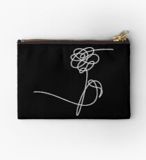 BTS LOVE YOURSELF 'HER' FLOWER WHITE Studio Pouch