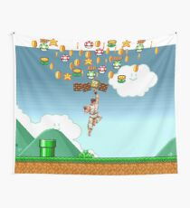 super mario fighter Wall Tapestry