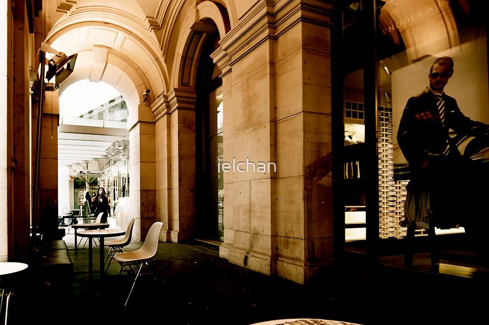 Street Cafe by ielchan