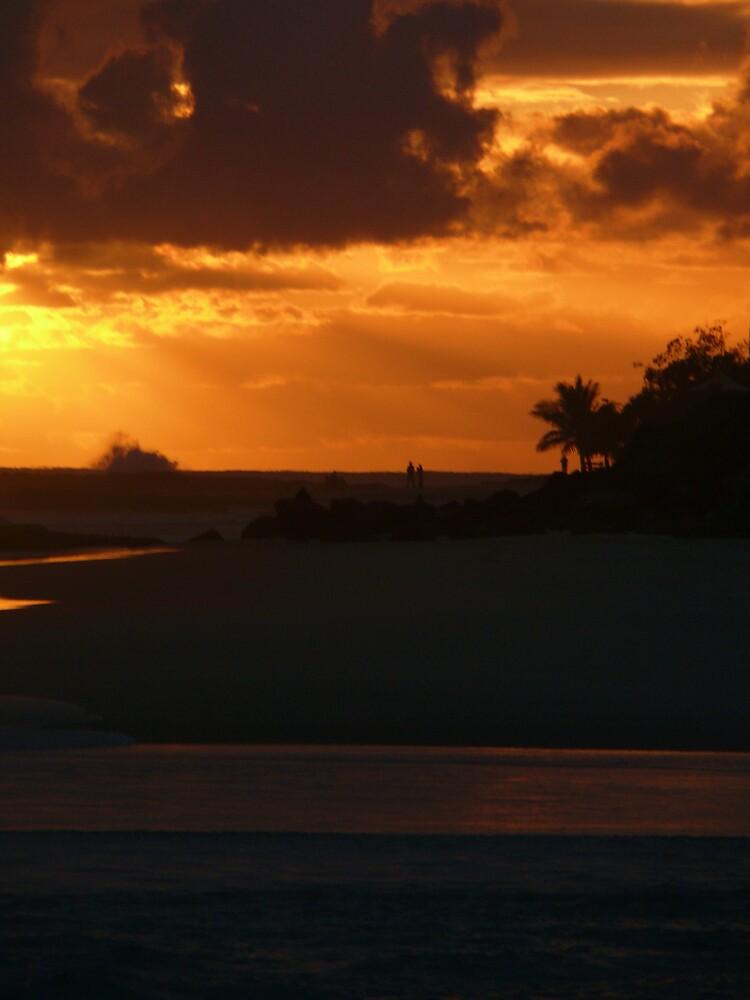 Orange Silhouettes by Tim Everding