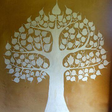 Bodhi Tree buddha enlightenment by FrejaFri