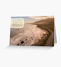 Great Coast Road Greeting Card