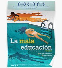 La mala educación (Pedro Almodóvar) Poster