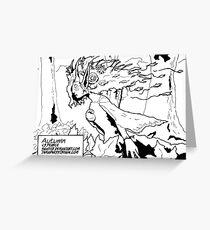 Inktober 3 (2017) Greeting Card
