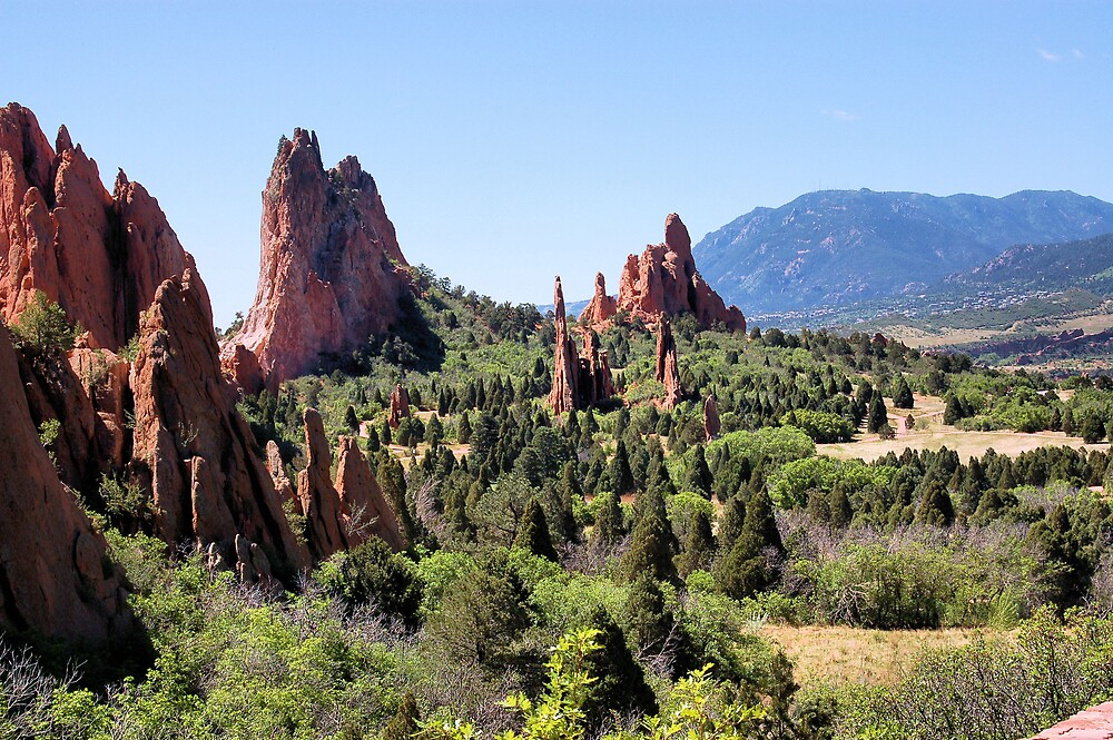 Another view of Garden of the Gods by Jawaher