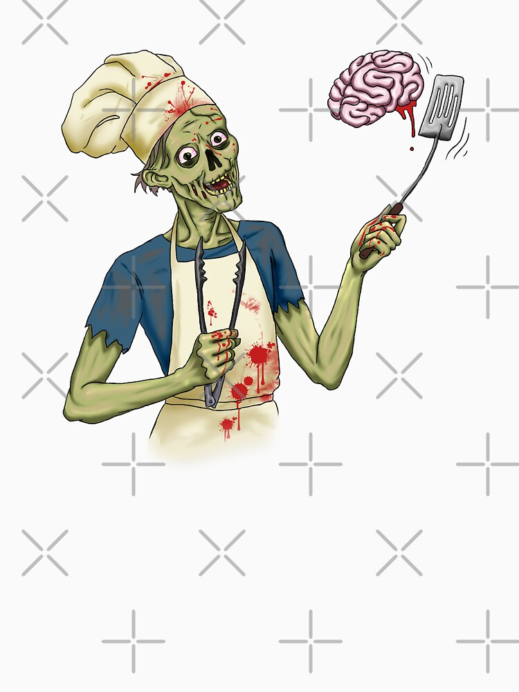 Bbq Zombie by Originalnilson