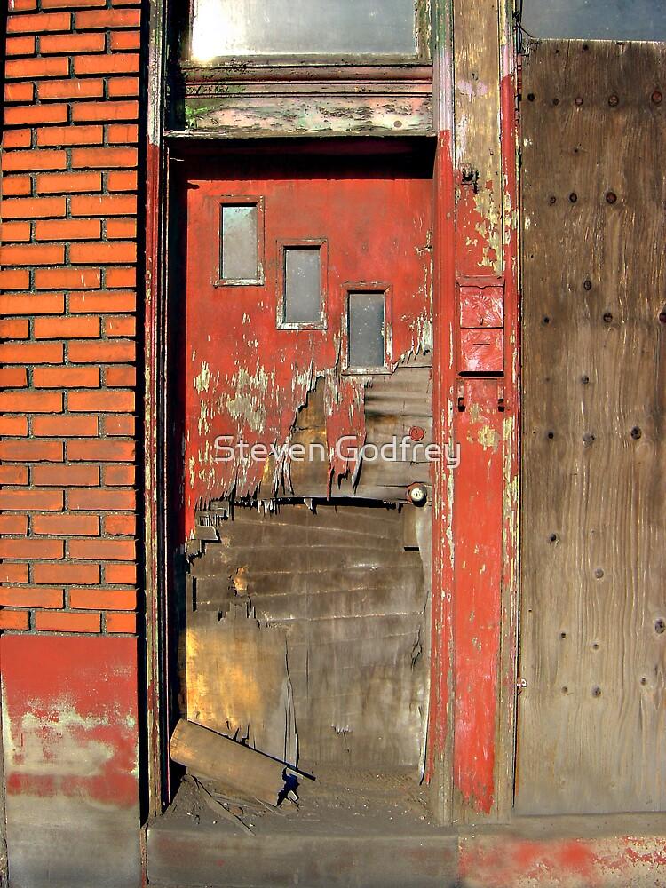 Red Door Remnants by Steven Godfrey