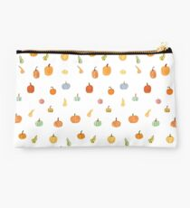 Cute Little Autumn Pumpkins Studio Pouch