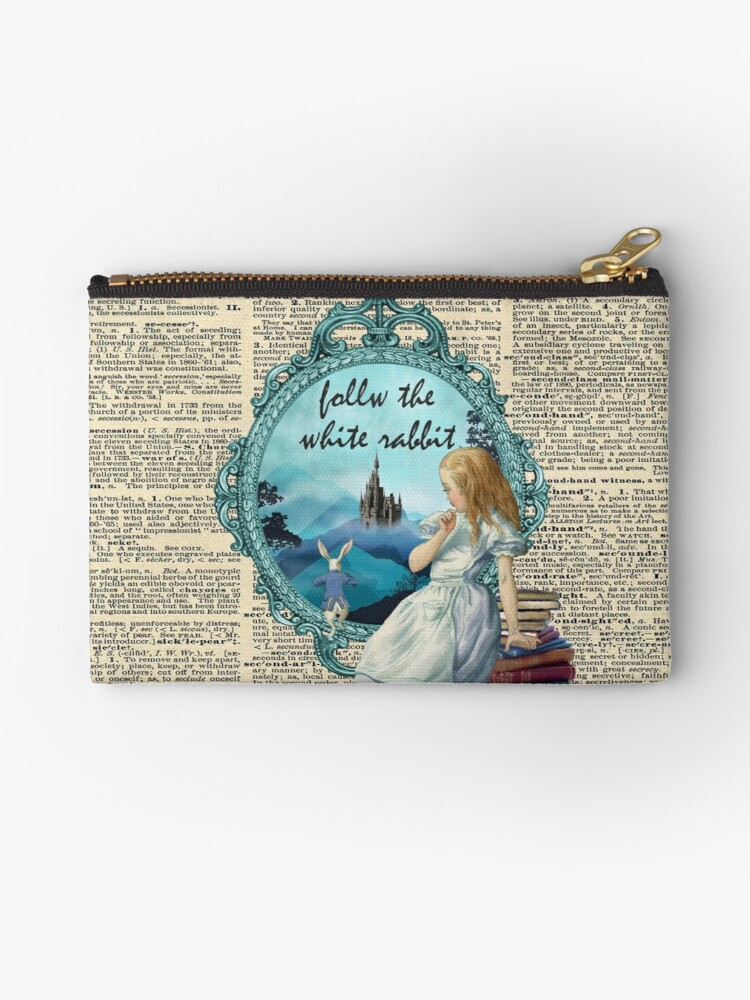 Follow The White Rabbit - Vintage Dictionary page by Gypsy  Queen