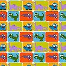 Dinosaur Team by Sonia Pascual