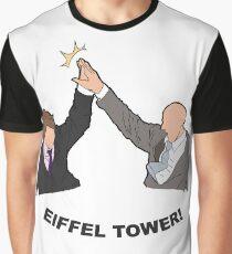 IT Crowd Eiffel Tower Graphic T-Shirt