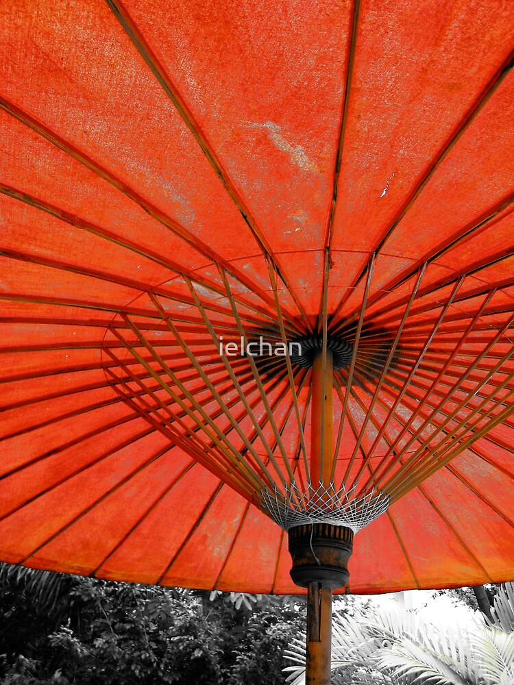 Red Umbrella by ielchan