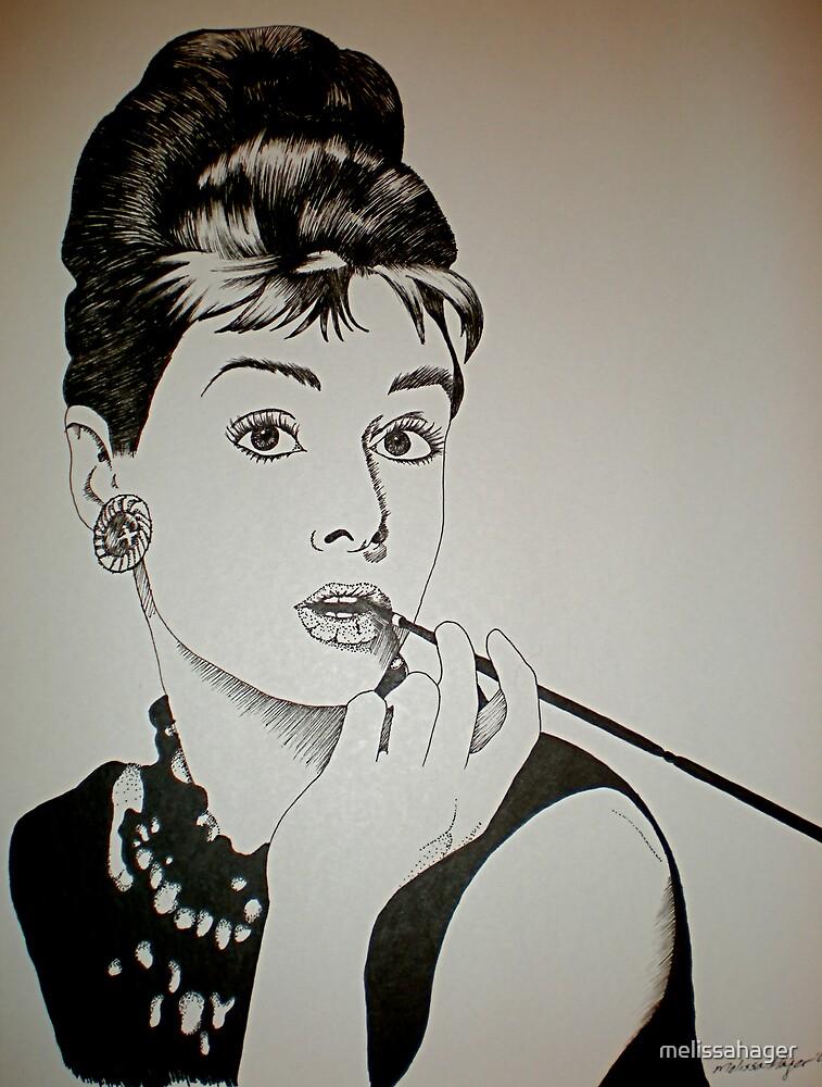 Audrey Hepburn by melissahager