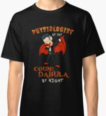 Count Dabula by night  Physiologist  Halloween Physiology   T-Shirt Sweater Hoodie Iphone Samsung Phone Case Coffee Mug Tablet Case Gift Classic T-Shirt