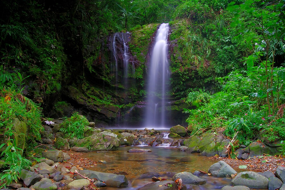 Las Delicias Upper Waterfall 1 by lightboxfactory