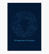the beginning of a universe Photographic Print