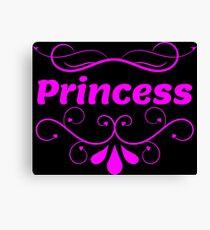 Princess Design  Canvas Print
