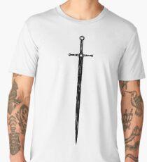 Medieval Crusader Sword Men's Premium T-Shirt