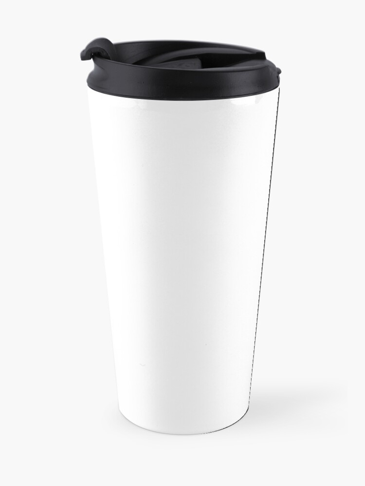 Alternate view of PLAIN WHITE | VERY WHITE | NEUTRAL SHADE | WE HAVE OVER 40 SHADES AND HUES IN THE NEUTRAL PALETTE Travel Mug