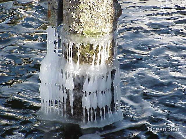 Ice Tide Marks by OceanBien
