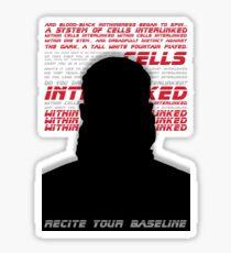 Blade Runner 2049 - Base Line Sticker