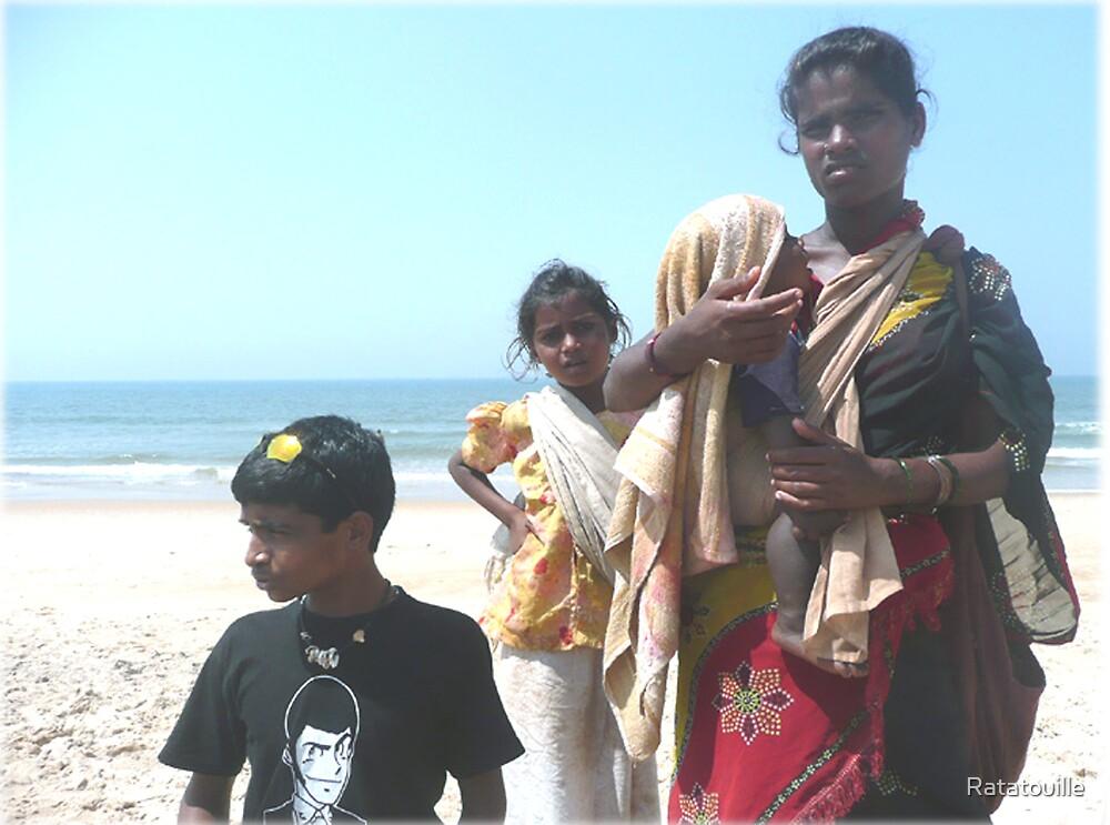 Woman in Goa by Ratatouille