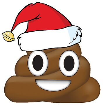 Christmas Hat Poo by cherrypiez