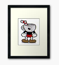 Cuphead Peter Griffin Framed Print