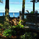 «Lago Ontario ~ Fin de verano» de artwhiz47