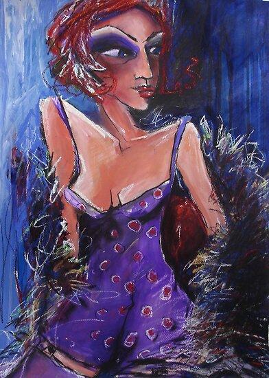 The Purple Slip by Carmen  Cilliers