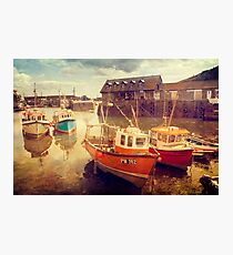 Mevagissey Harbour Photographic Print