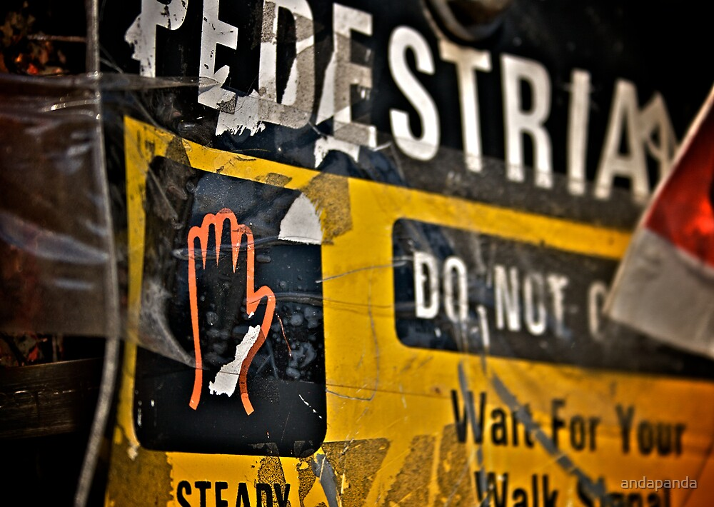 Pedestrian by andapanda