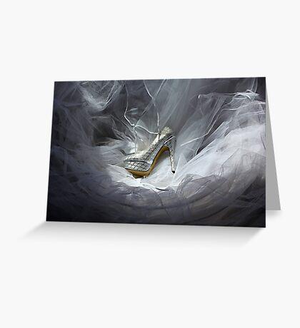 Wedding Shoe Vortex Greeting Card