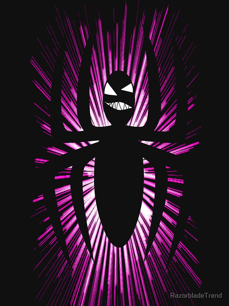Spider Purple Blast by RazorbladeTrend