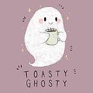 Toastie Ghostie by panda3y3