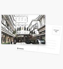 Savoy Hotel 2 Postcards