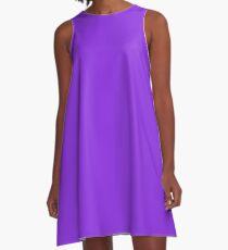 color blue violet A-Line Dress