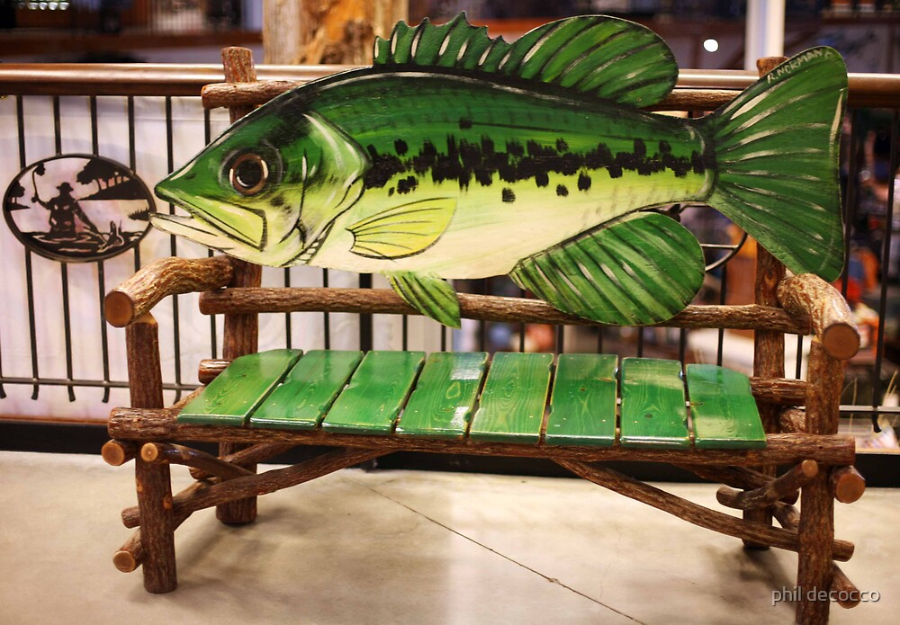Bass Bench by phil decocco