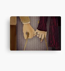 Tonks and Lupin Canvas Print
