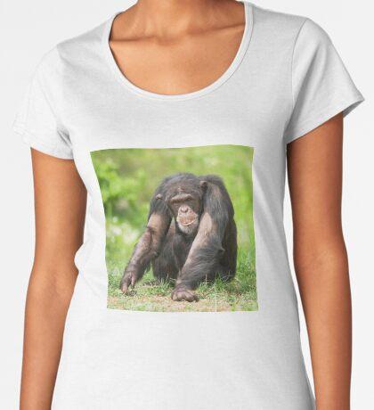 Chimpanzee Women's Premium T-Shirt