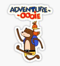 Adventure-Oooie Sticker