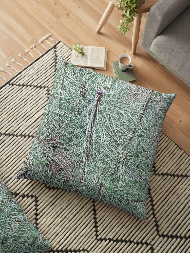 Spruce needles. by Robert Elfferich