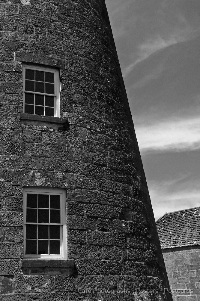 Carrington Mill, Oatlands by Cafe Photographs - Posters - Postcards